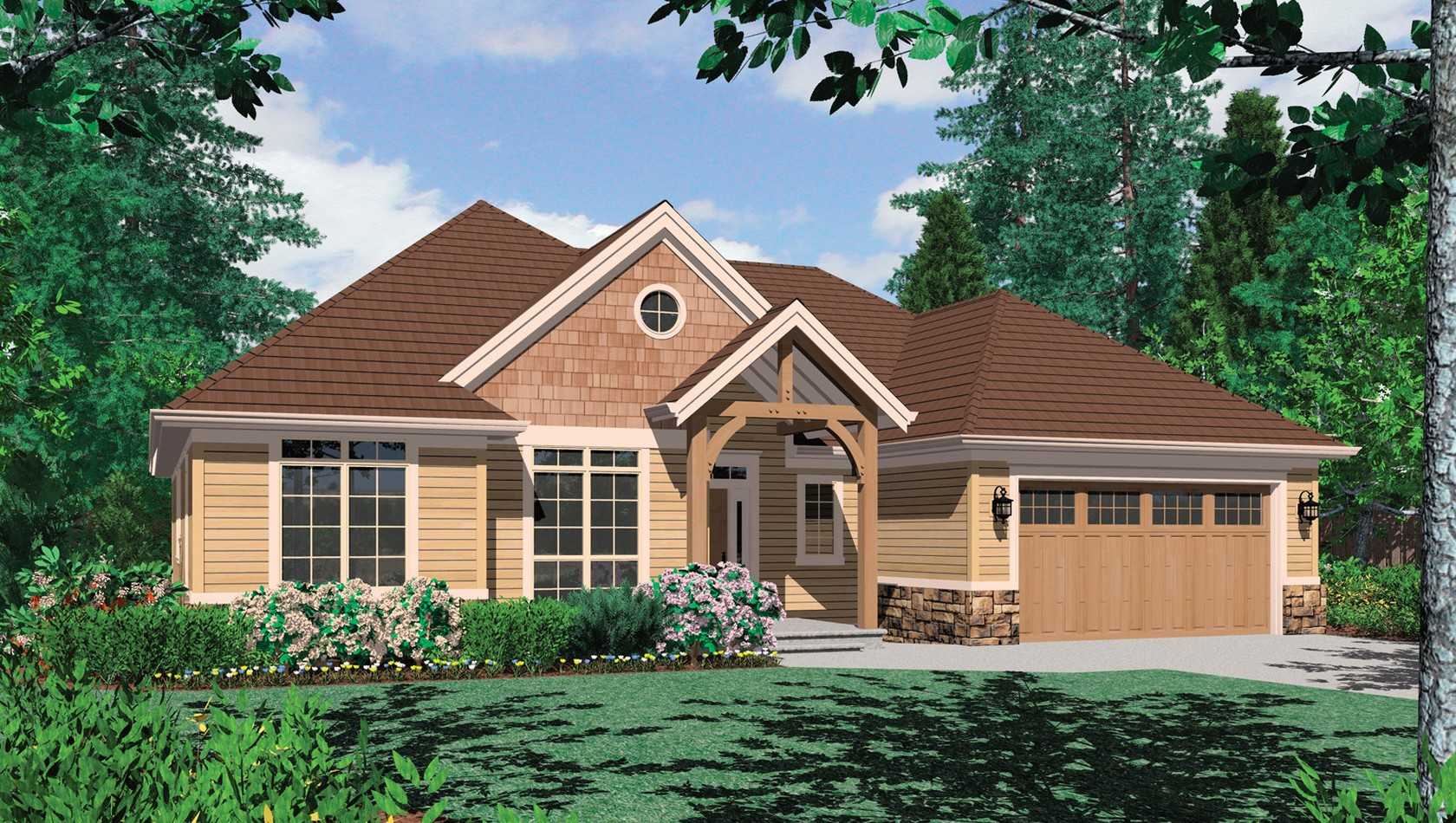 Main image for house plan B1149B: The Pendleton