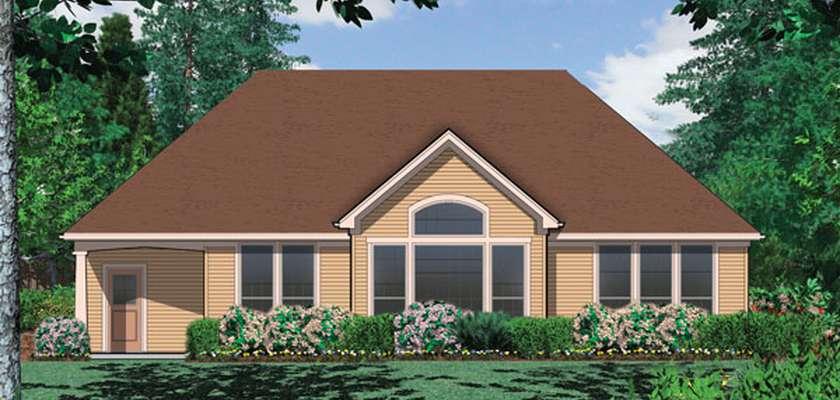 Mascord House Plan 1149B: The Pendleton