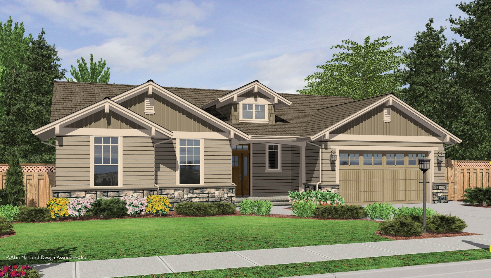 Main image for house plan B1149C: The Avondale