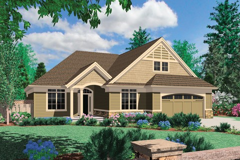 Image for Calloway-Cottage Style Home with Vaulted Great Room and Fireplace-210