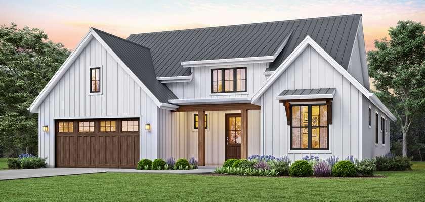 Mascord House Plan 1152C: The Humboldt