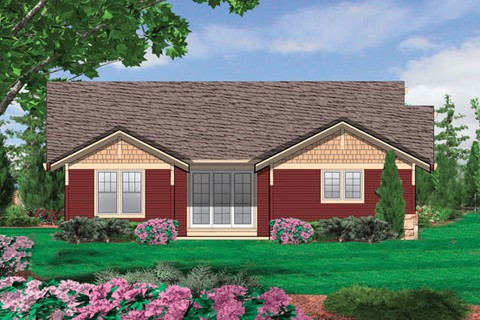 Image for Ellington-3 Bedroom Craftsman Plan with Spacious Feel-237