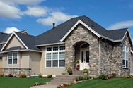 Front Exterior of Mascord House Plan 1154A - The Trumbull