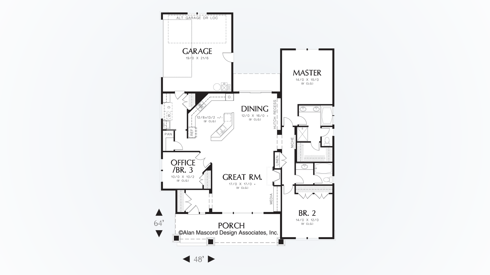 Cottage House Plan 1154 The Ellington 1891 Sqft 3