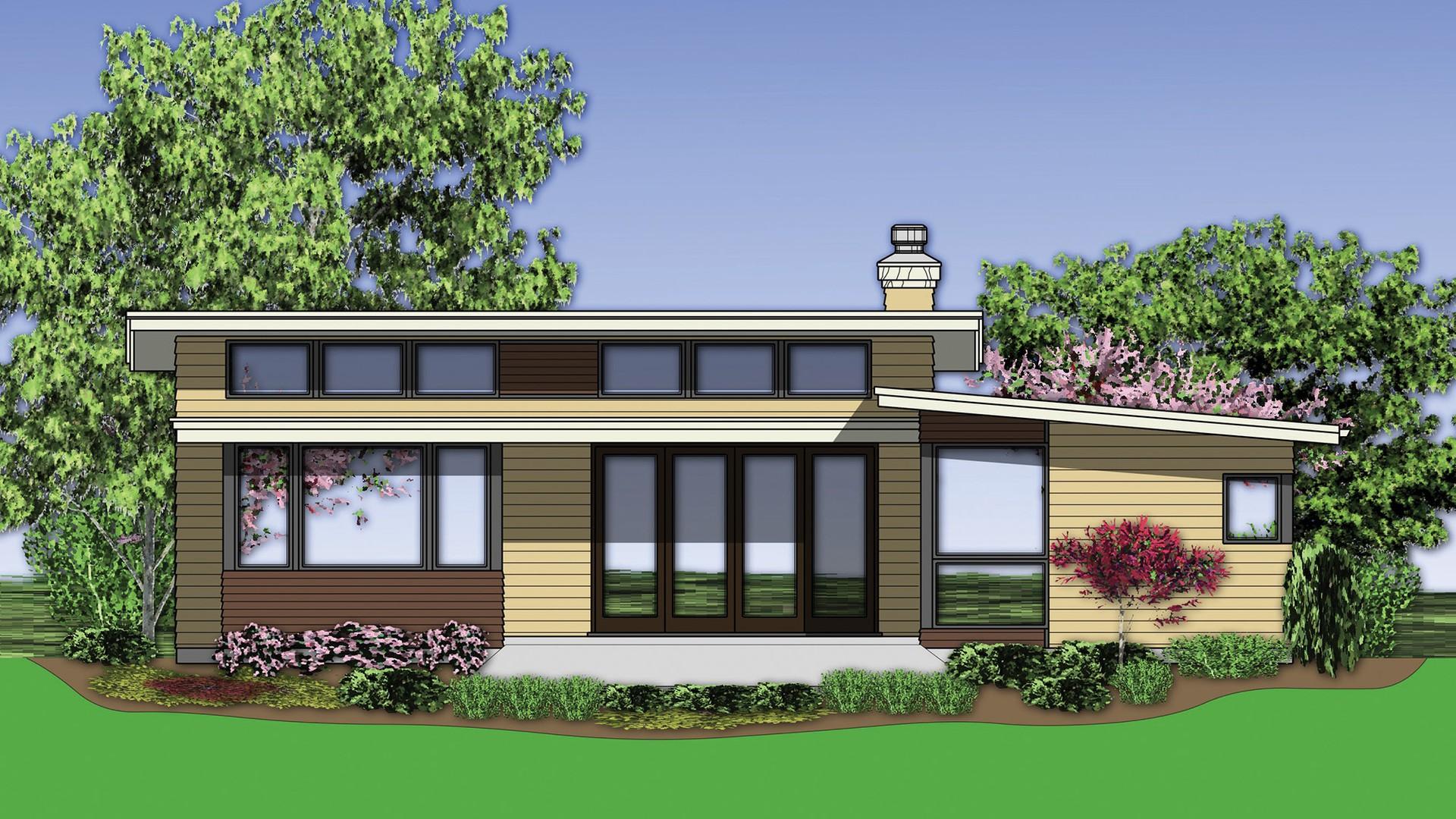 Contemporary House Plan 1159 The Berkley 1719 Sqft 3