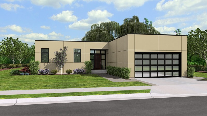 Contemporary house plan 1160a the galway 1286 sqft 2 for Houseplans co