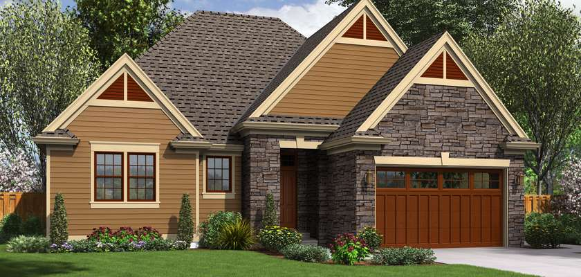 Mascord House Plan 1161ES: The Hoover
