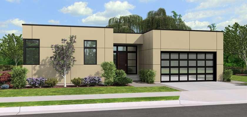 Mascord House Plan 1162: The Portland