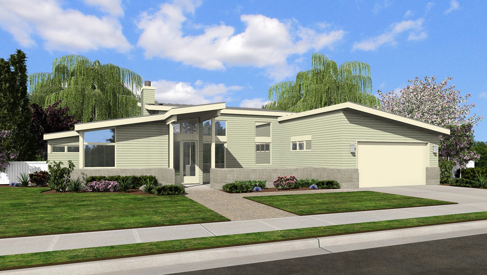 Mascord House Plan 1163: The Westside