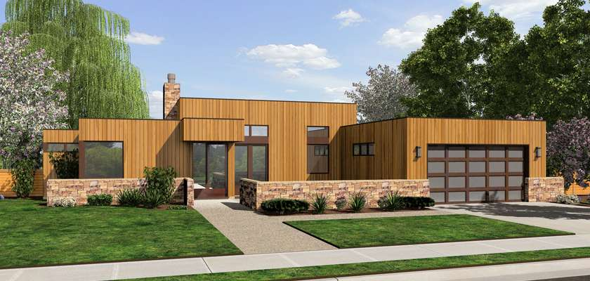 Mascord House Plan 1163A: The Queensbury
