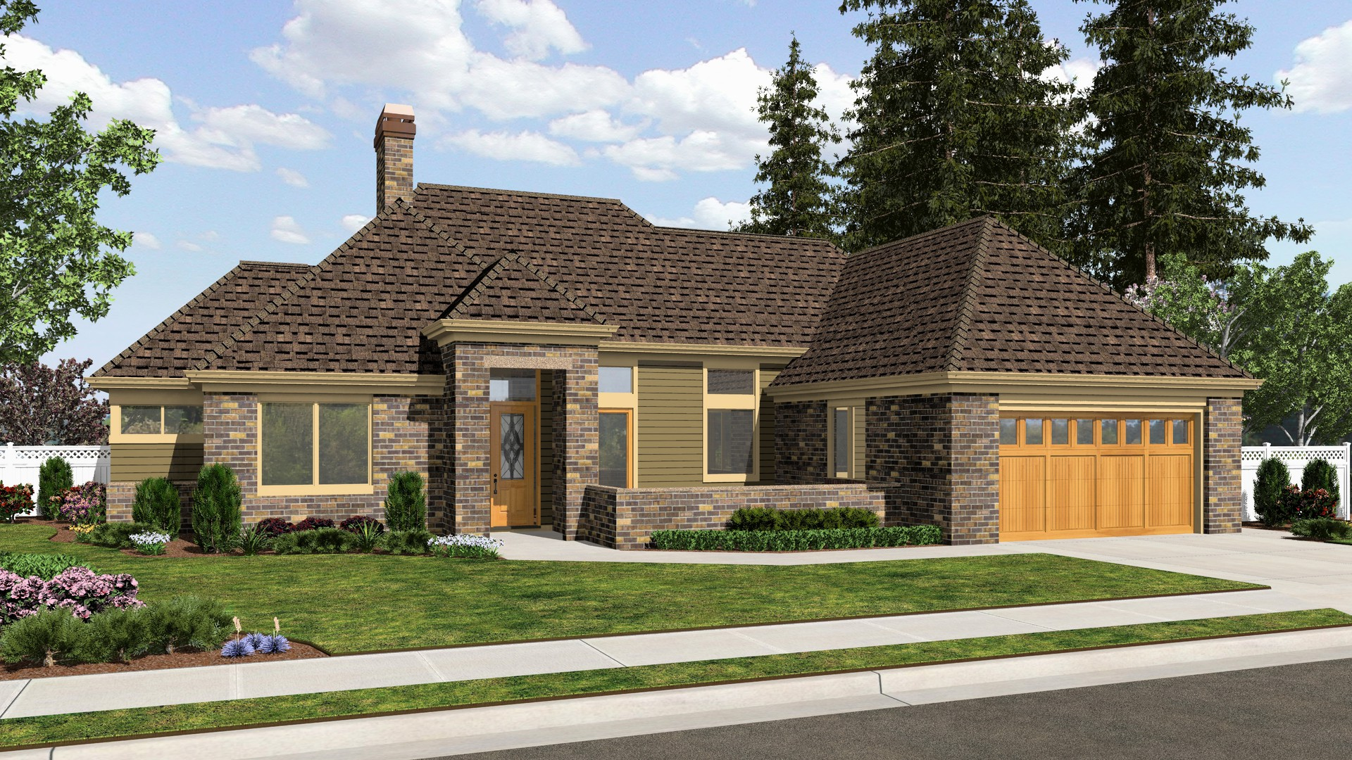 Ranch House Plan 1163B The Oxenhope: 1508 Sqft, 2 Beds, 2 ...