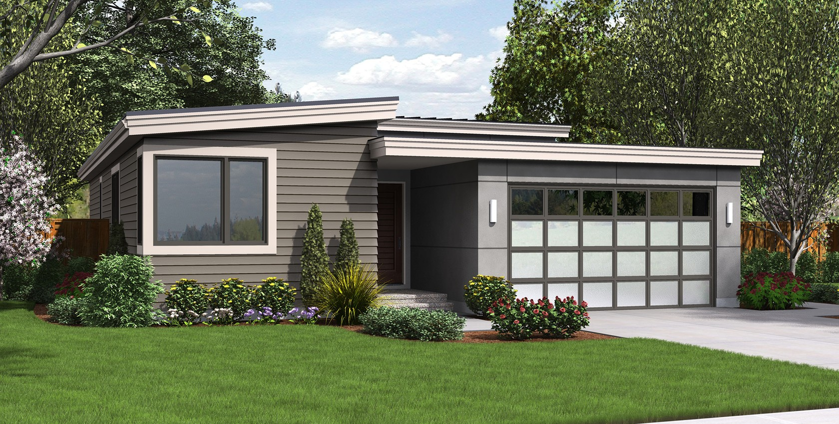 Image for Park Place-Narrow contemporary home designed for efficiency.  Excellent Outdoor connection-4082