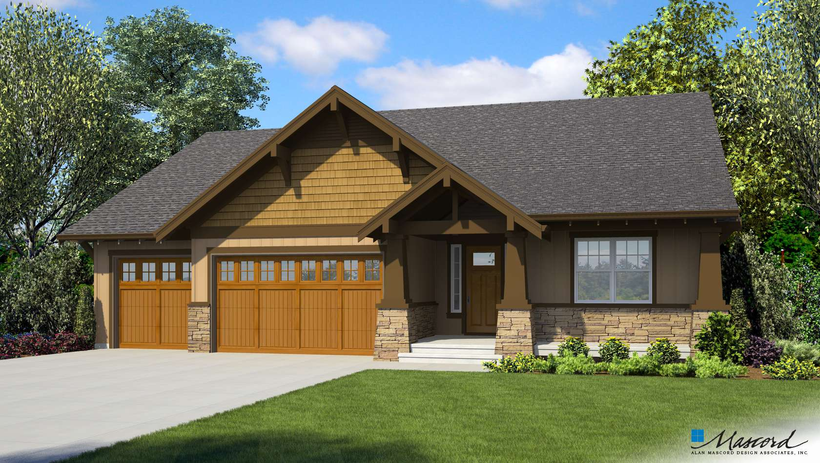 Main image for house plan 1168A: The Americano