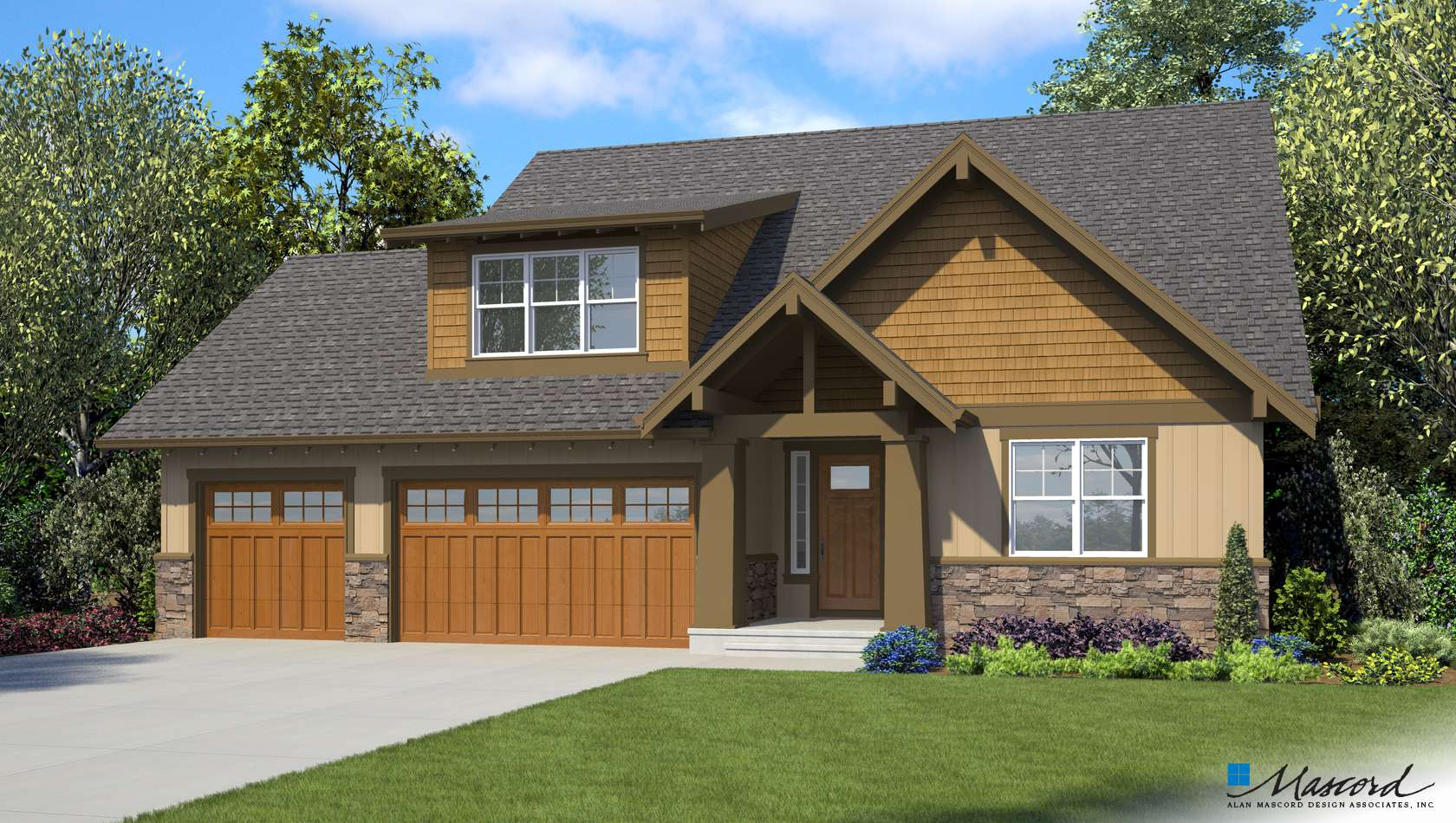 Main image for house plan 1168B: The Breve