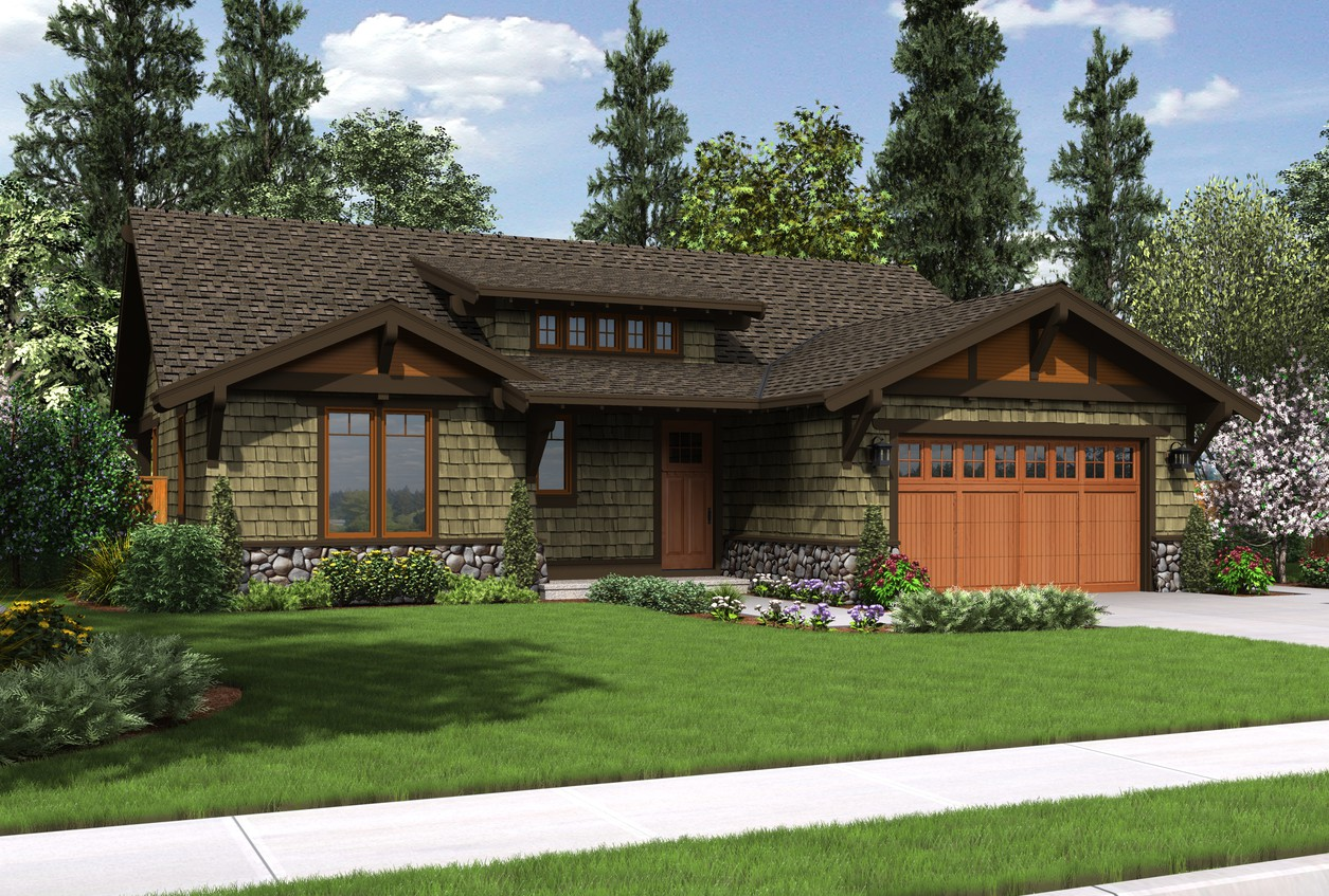 House plan 1169a the pasadena - Creative home with beautiful panorama to provide total comfort living ...