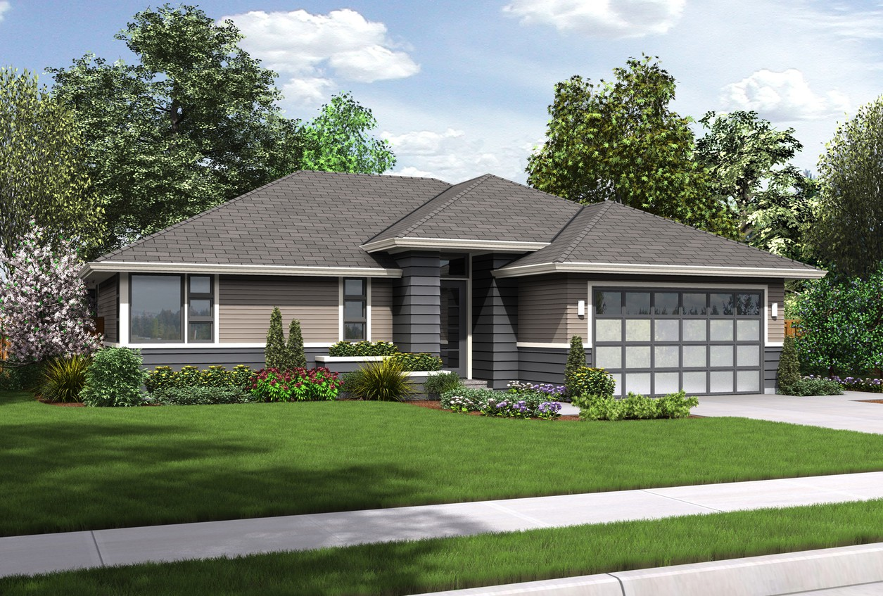 1169ES Front Rendering DIMG billboard - Download Modern Small Home Design Plans Pictures