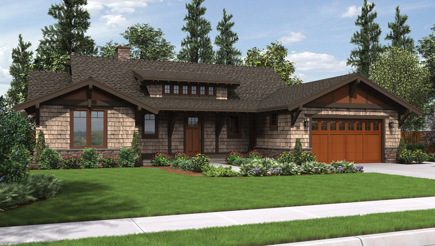 Main image for house plan 1170: The Meriwether