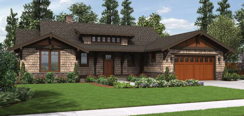 Mascord House Plan 1170: The Meriwether
