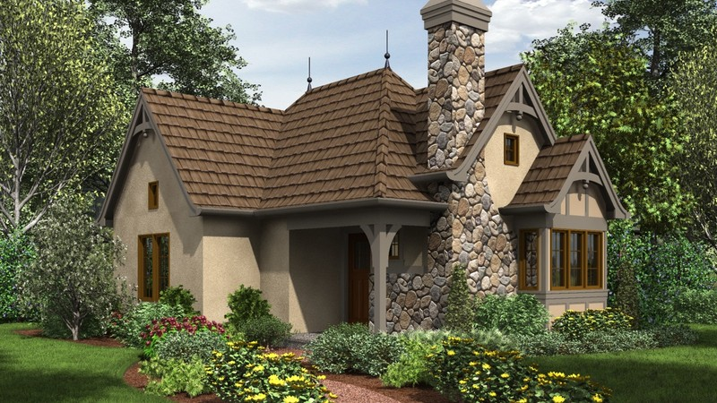 European House Plan 1173 The Mirkwood 544 Sqft 1 Beds 1