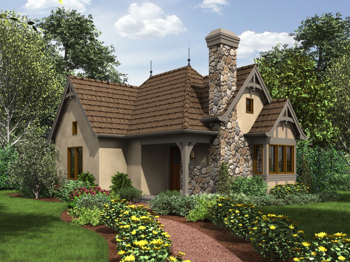 Tiny Storybook House Plans
