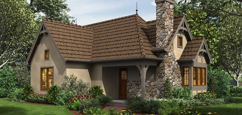 Mascord House Plan 1173A: The Goldberry