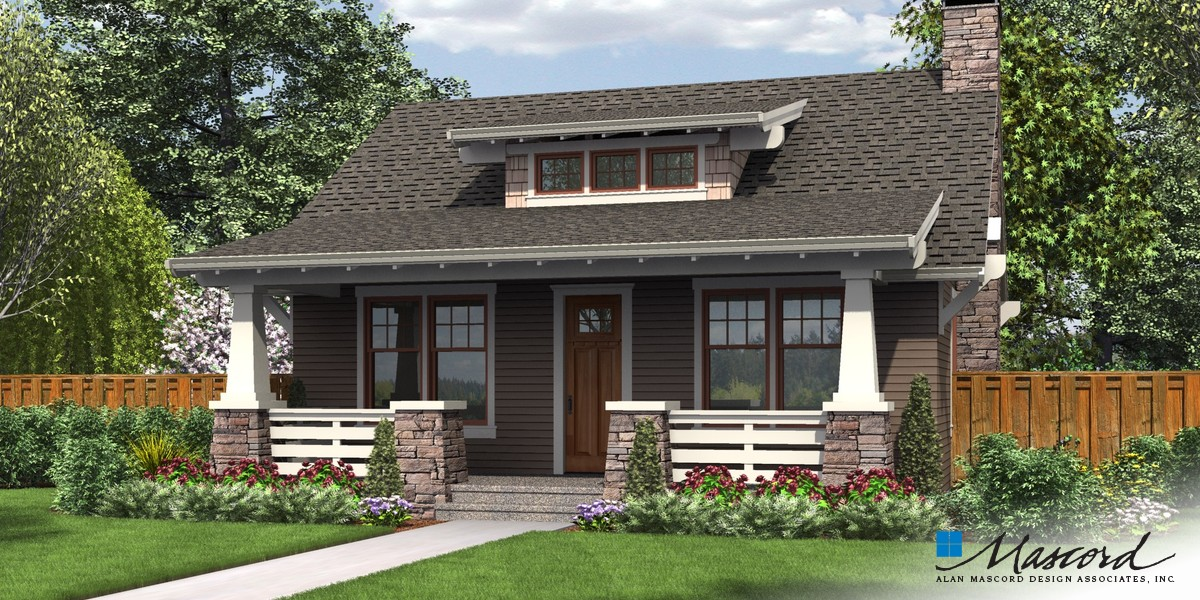 Image for Aumsville-A Beautifully Detailed Craftsman Getaway-Front Rendering