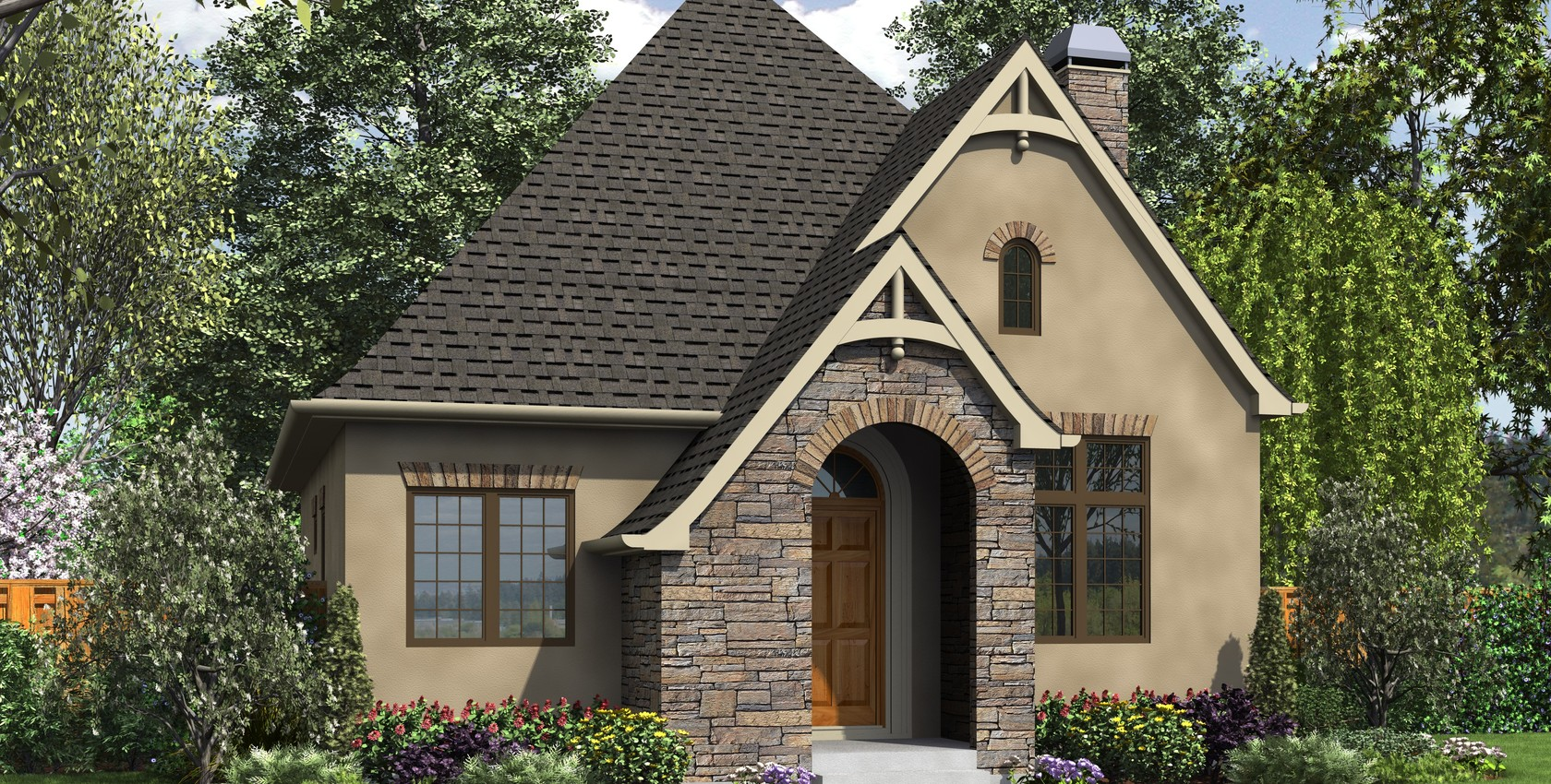 Image for Cecil-Guest Cottage, Vacation Home or Compact Living - This Plan is Perfect in Any Case-8474