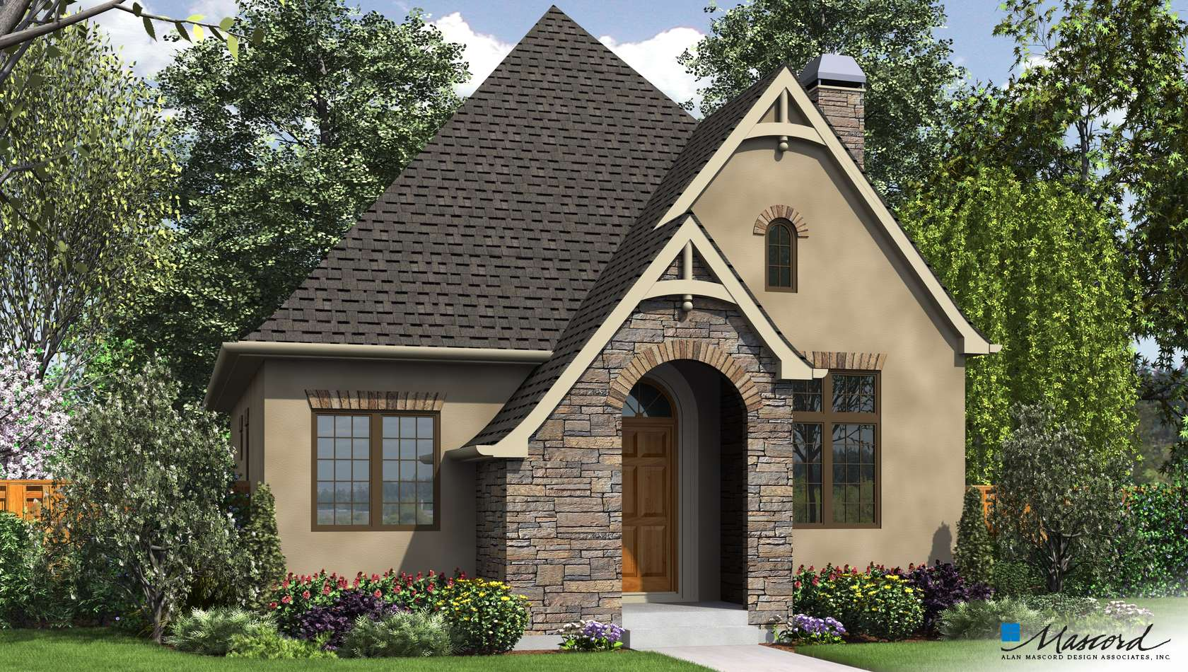 Main image for house plan 1176A: The Cecil