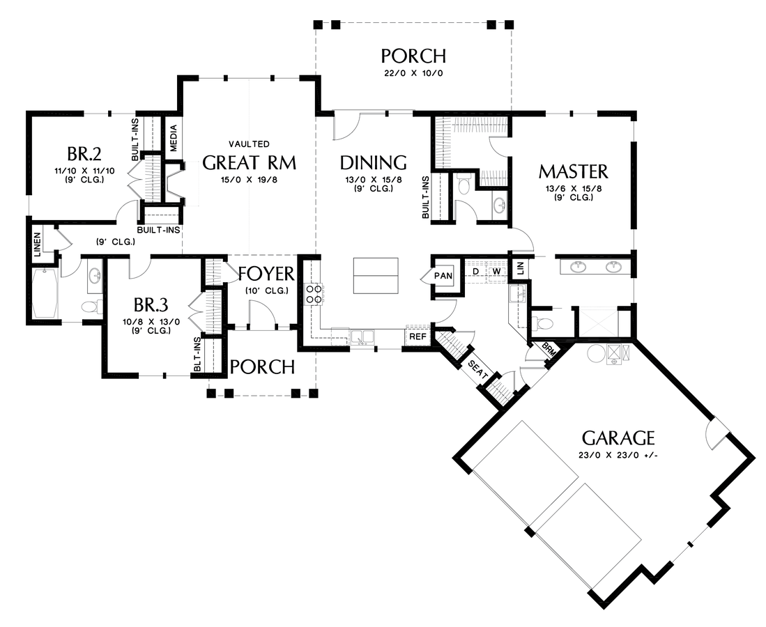 Image for Artemis-Study Nature, Love Nature, Stay Close to Nature. It Will Never Fail You-Main Floor Plan