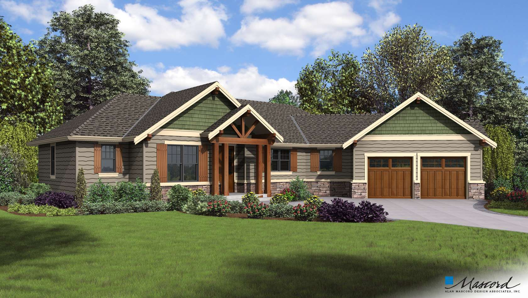 Main image for house plan 1177: The Artemis