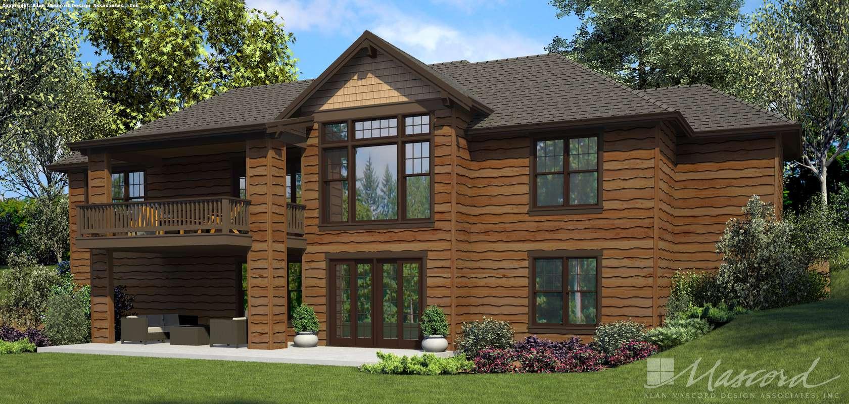 Mascord House Plan 1177A: The Haich