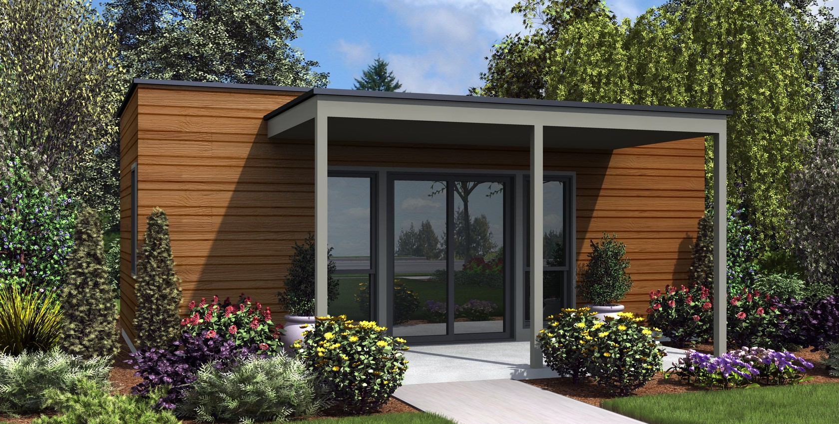 Image for Woodhaven-Efficient Contemporary Guest Suite-8655
