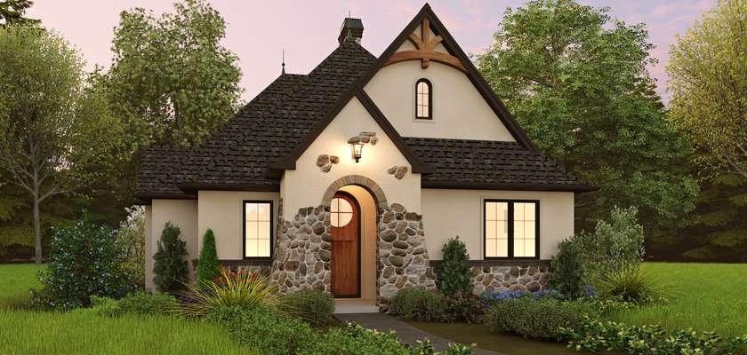 Mascord House Plan 1180: The Winterfell
