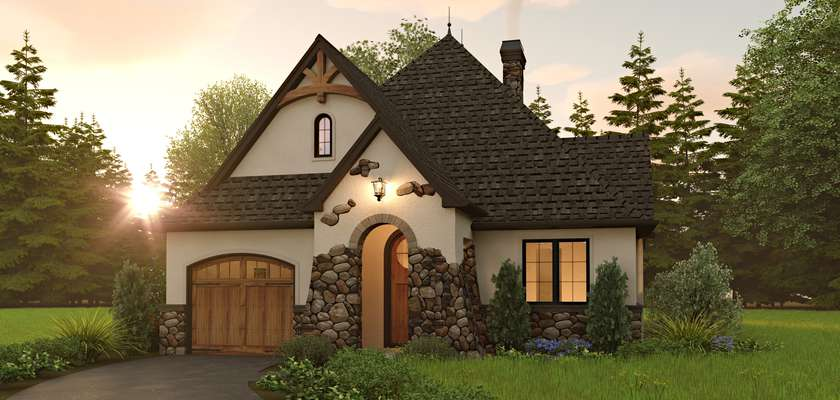Mascord House Plan 1180A: The Misty Meadows