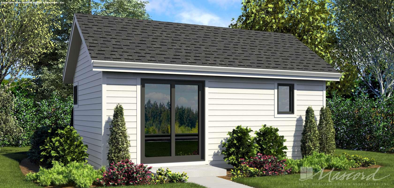 Mascord House Plan 1181: The Moorpark