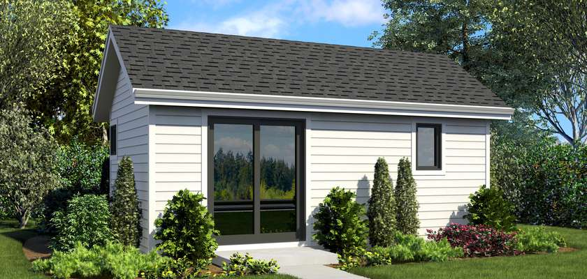 Mascord House Plan 1181BA: The Montague