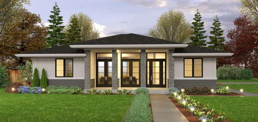 Mascord House Plan None: The Lichdean