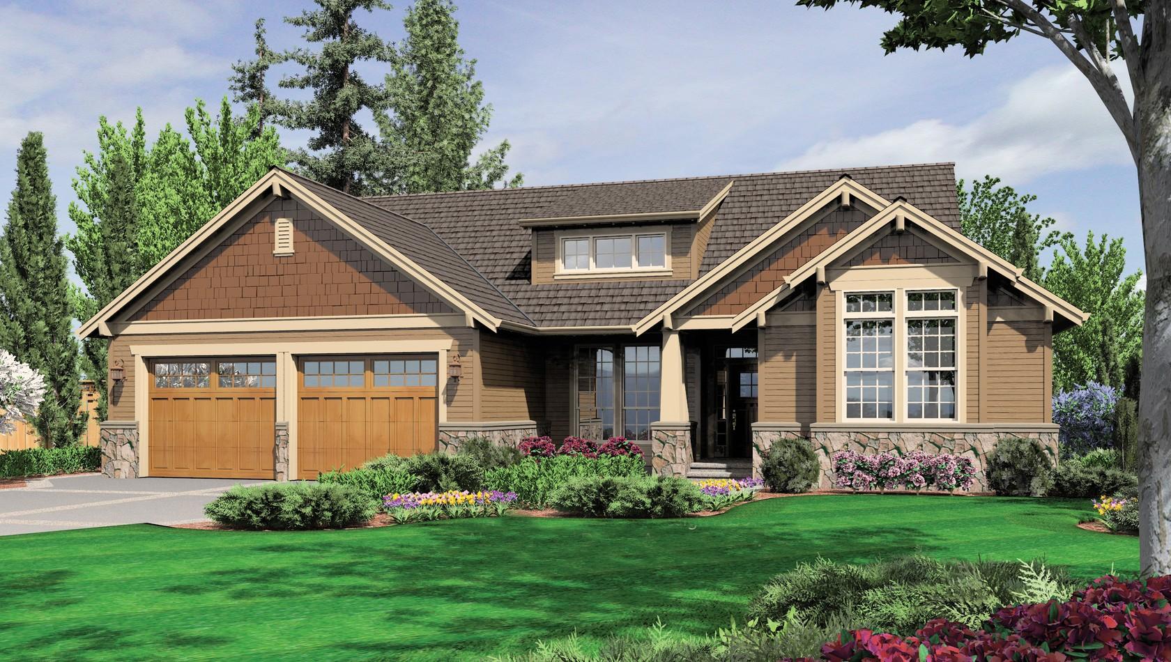 Main image for house plan 1201J: The Dawson