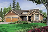 Front Rendering of Mascord House Plan 1201J - The Dawson