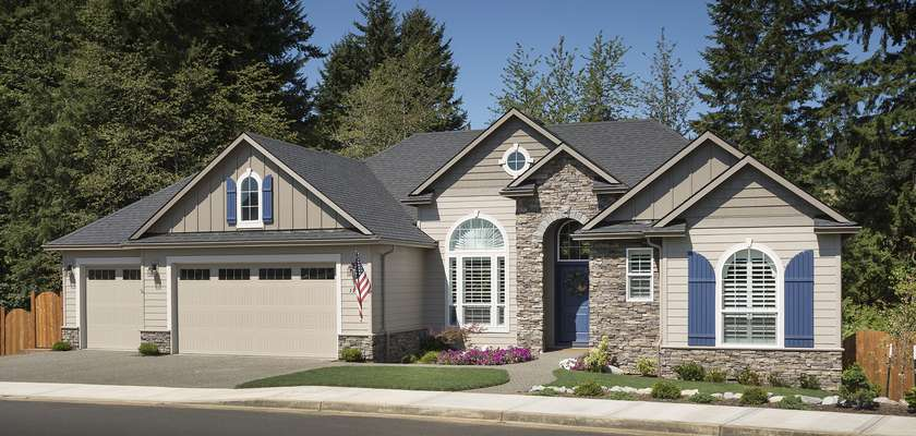 Mascord House Plan 1201GD: The Arlington