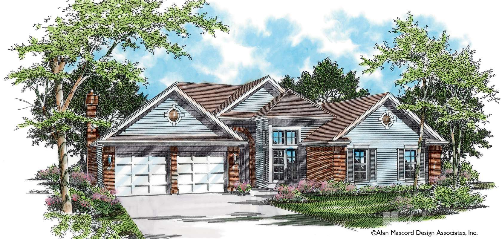 Mascord House Plan 1211: The Emmet