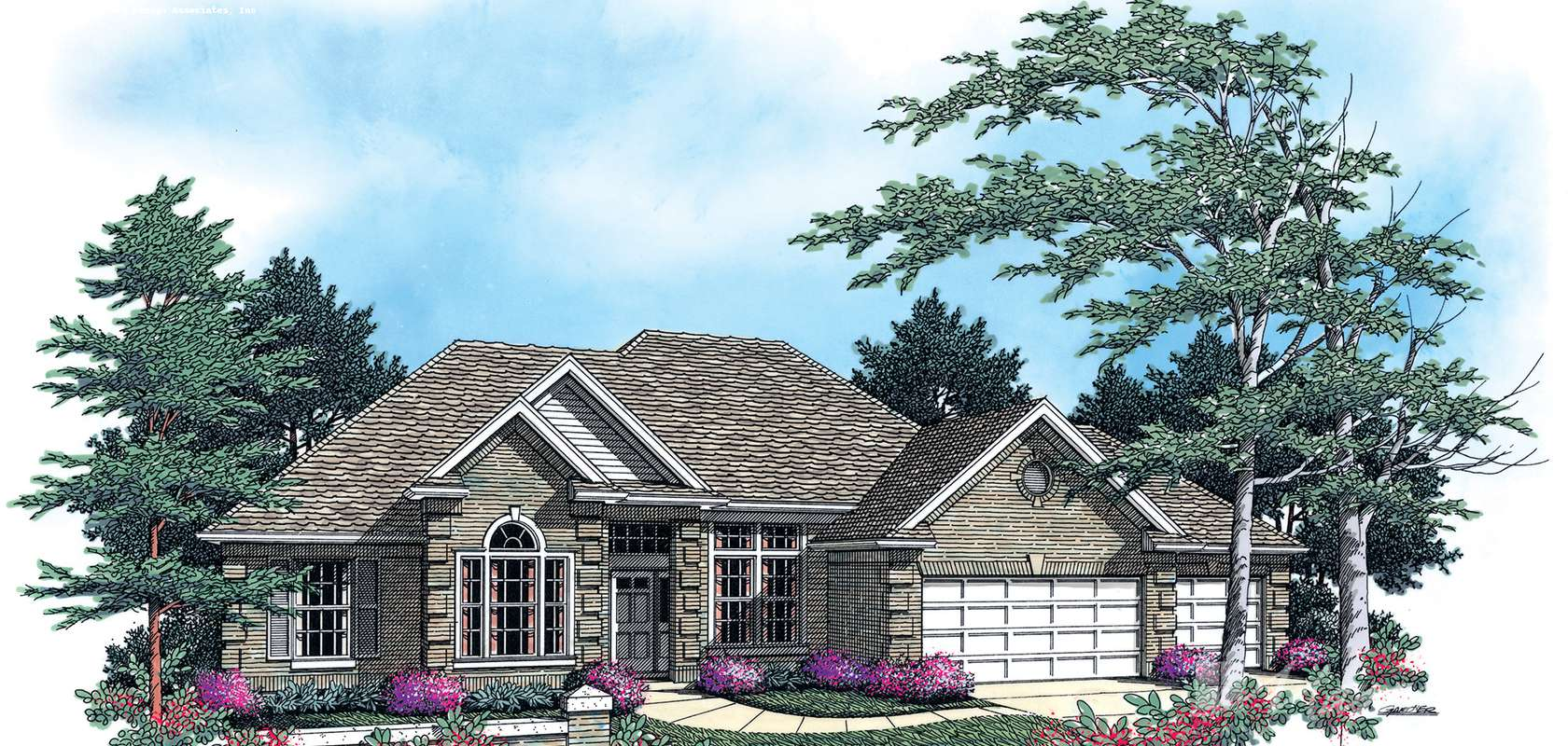 Mascord House Plan 1213: The Stephen