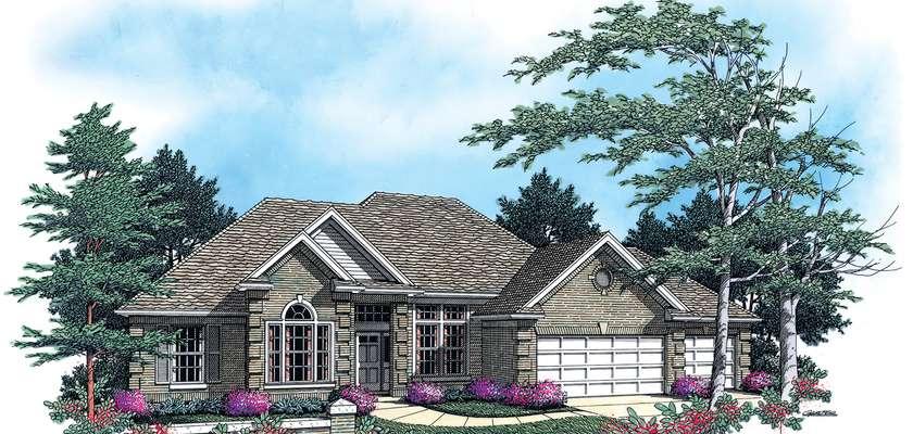 Mascord House Plan B1213: The Stephen