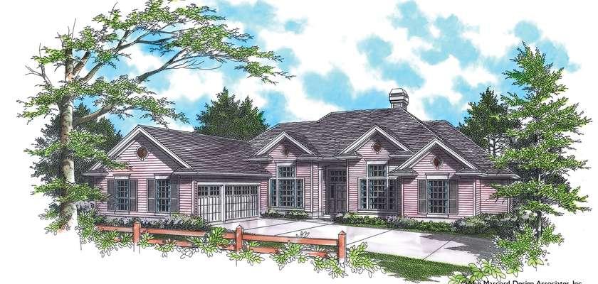 Mascord House Plan 1214: The Ellendale