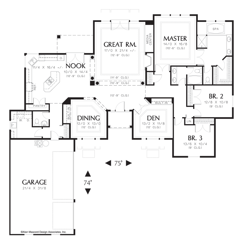 House plan 1214 the ellendale for House plans mn