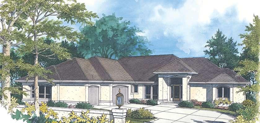 Mascord House Plan 1219: The Glencoe