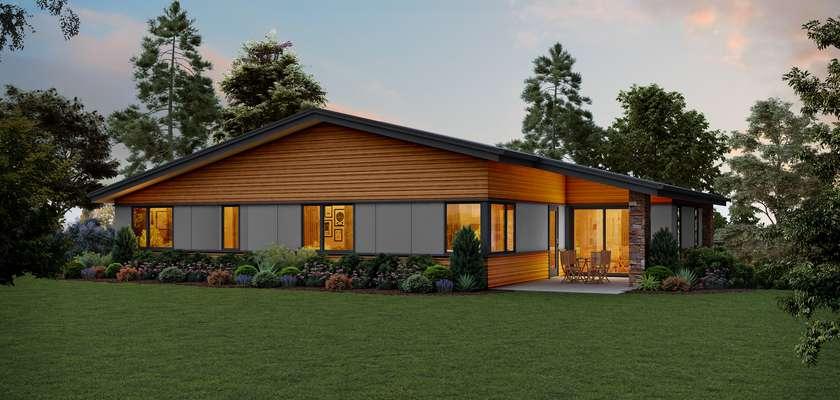 Mascord House Plan 1220L: The Louisville