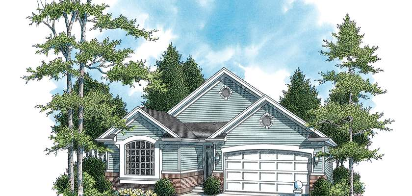 Mascord House Plan 1221A: The Kentwood