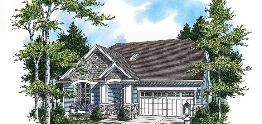 Mascord House Plan 1221C: The Lockport