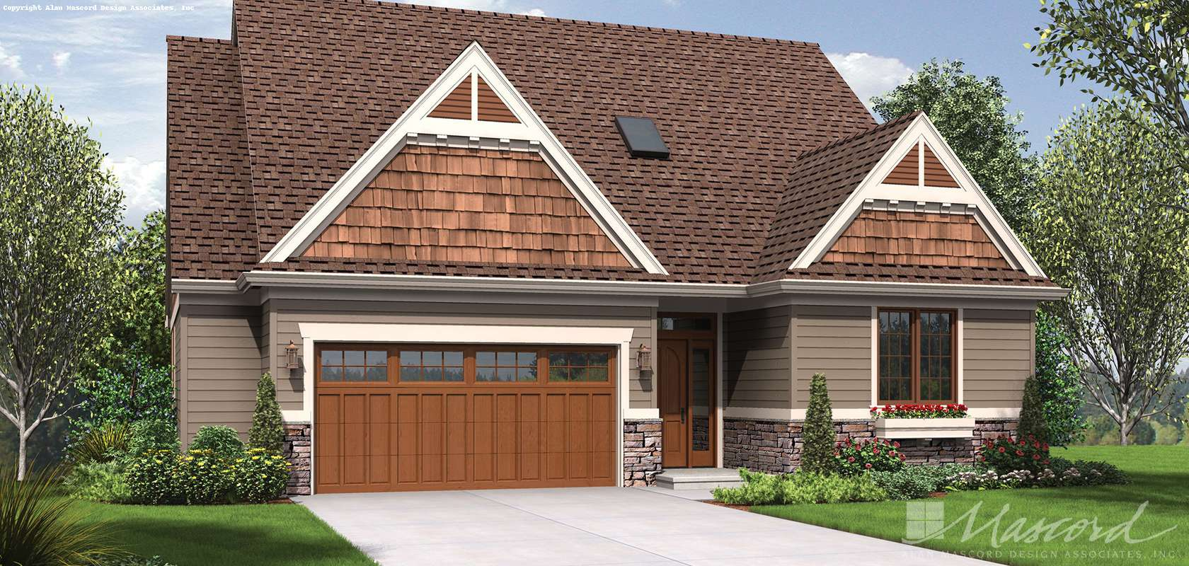 Mascord House Plan 1221CC: The Newmarket